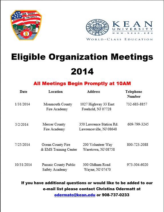 EO Meetings 2014